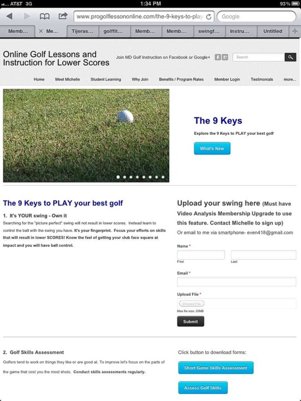 Benefits Pricing Of The Best Online Golf Lessons Site
